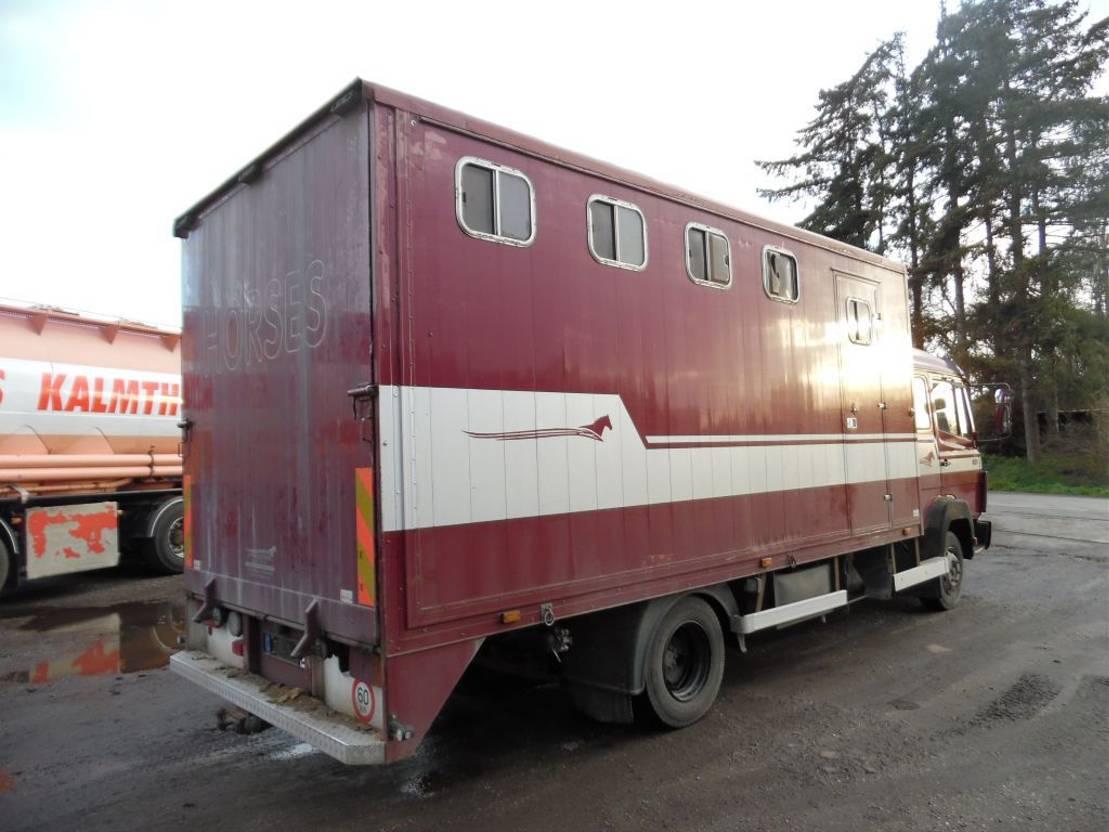 bakwagen vrachtwagen Mercedes-Benz 814 1992