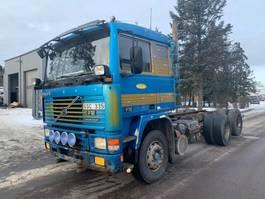 chassis cabine vrachtwagen Volvo F12 1991
