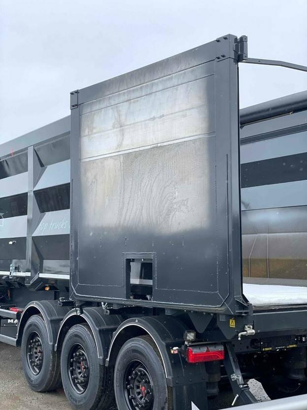 kipper oplegger Stas HardoX Stahl 55 m³, AGRAR-LINER, Mieten ? 2021