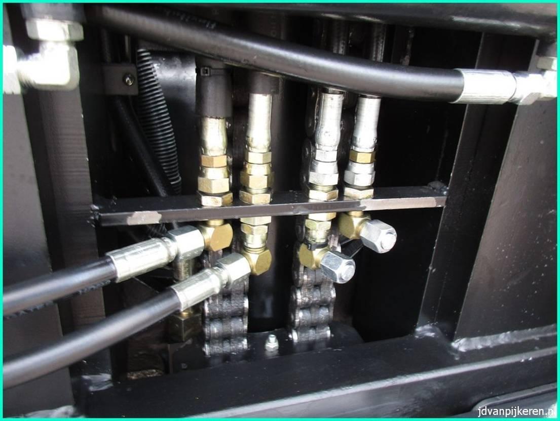 vorkheftruck Hyster H4.00XM-5 4t LPG triplex6m +sideshift +4xhydrauliek! 2002