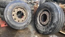 banden vrachtwagen onderdeel Bridgestone DURAVIS R-STEER 002 SET 385/65R22.5 DOT 3120 2020