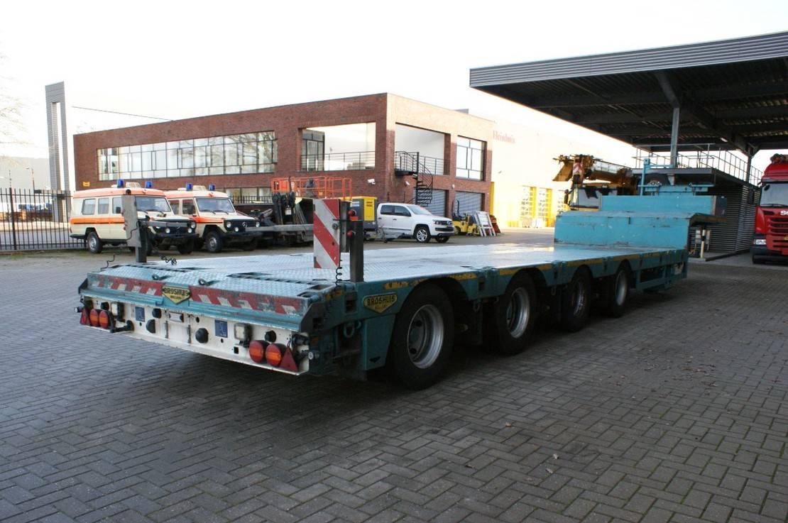 semi dieplader oplegger Broshuis 4 AOU-23-48 SLair 6.5 M Extand! 2015