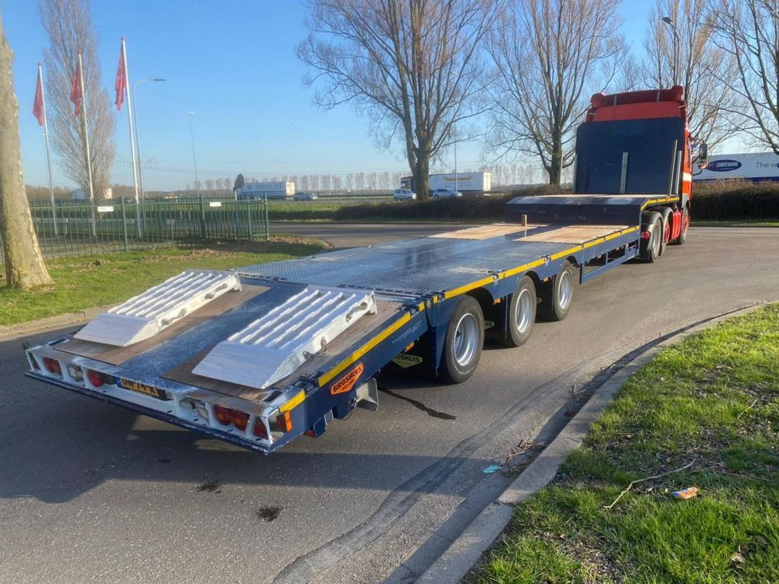 semi dieplader oplegger Broshuis E-2190/27 2015