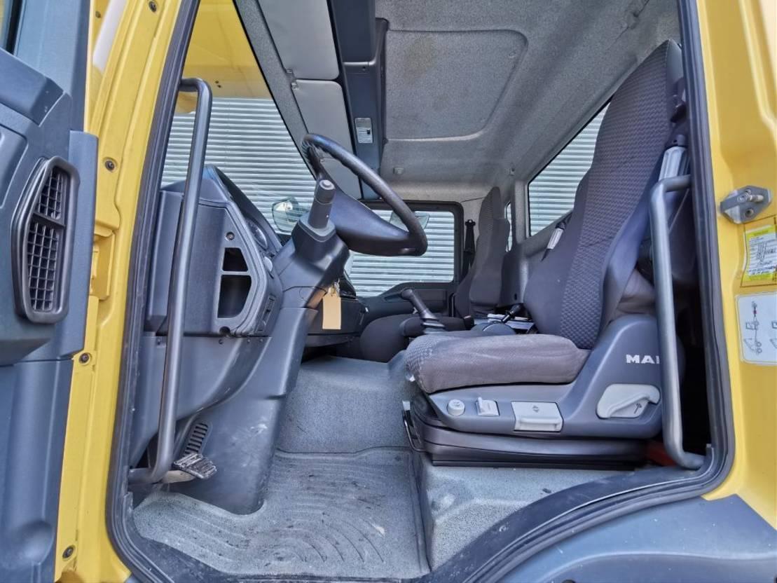 autohoogwerker vrachtwagen MAN TGM 18 4x4 Ruthmann T470 47 meter! 2009