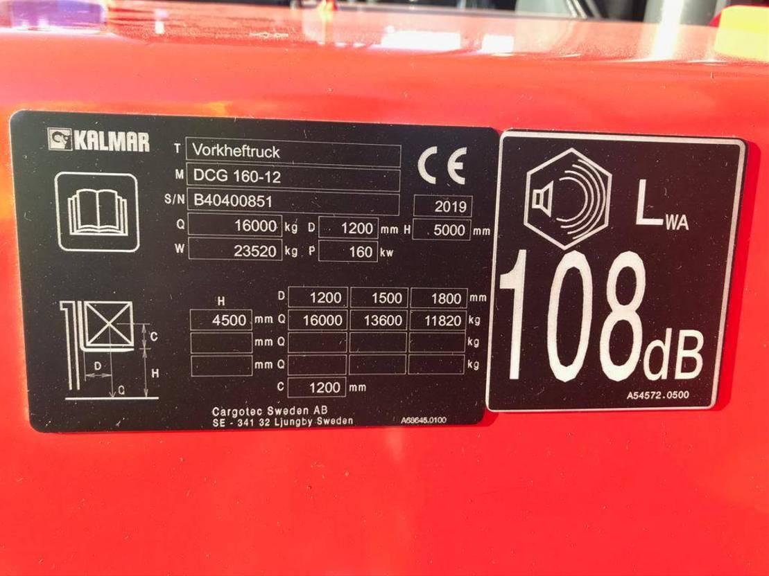 vorkheftruck Kalmar DCG 160-12 2020