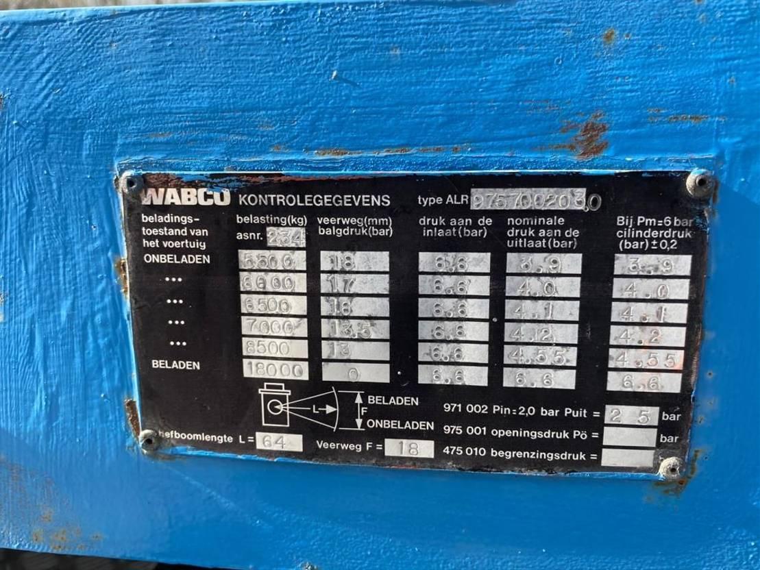 semi dieplader oplegger Broshuis E. 2510 1982