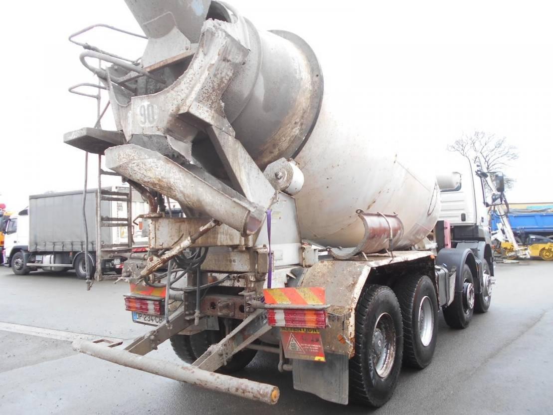 betonmixer vrachtwagen Mercedes-Benz Axor 2008