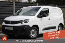 gesloten bestelwagen Peugeot Partner 1.5 BlueHDI Premium 75PK Navigatie, Cruise Control, P. Sensoren achter, ... 2021