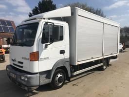 bakwagen vrachtwagen Nissan ATLEON **BELGIAN TRUCK-94.000KM-STEEL SUSPENSION** 2001