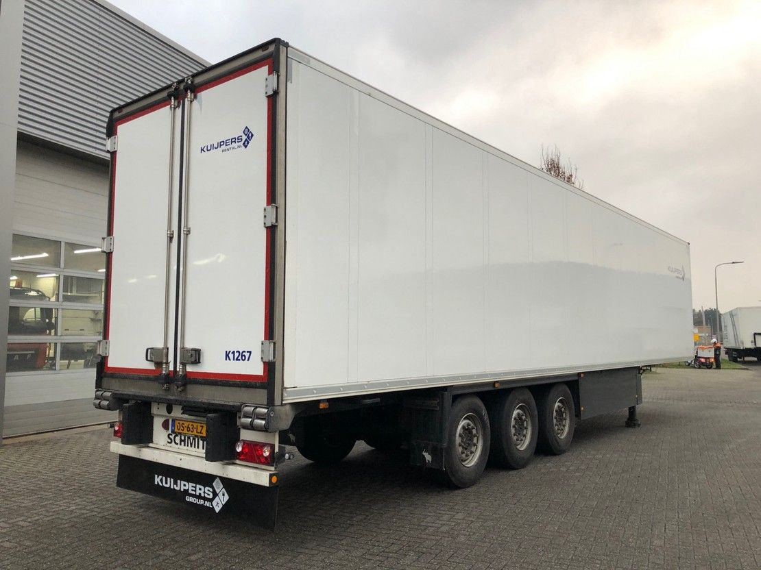 koel-vries oplegger Schmitz Cargobull 3 as / Liftas / Carrier Koeler / Blumen Flowers Bloemen / APK TUV 12-2021 ! 2015