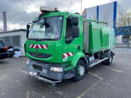 Veegmachine vrachtwagen Renault MIDLUM CNG Erdgas Schwemmfahrzeug Streetwasher 2008