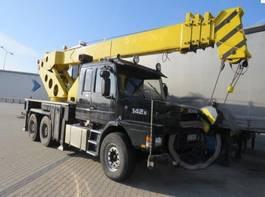 alle terrein kranen Scania 142E , 6X4 , Crane Herculec RK80 - max 17,500kg 1986