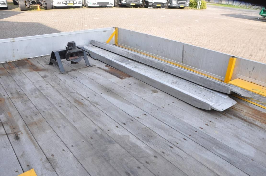 platte aanhanger vrachtwagen Titan .2007. 7-TON OPRIJ AANHANGER 2007