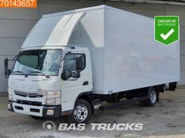 bakwagen vrachtwagen Mitsubishi Fuso 7C18 4X2 Fuso 7C18 Manual Ladebordwand Euro 6 2017