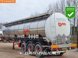 tankoplegger Burg BPO16-27 3 axles Chemie Tank 45.000 Ltr / 4 / 1988