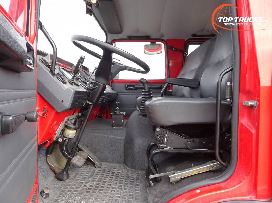 brandweerwagen vrachtwagen Renault 11 0-150 4x4 4x4 -Feuerwehr, Fire brigade -3.000 ltr watertank - 5t. Lier, ... 1992