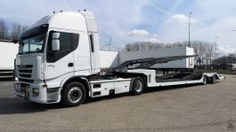 autotransporter oplegger Iveco AS440S42T/P 2008