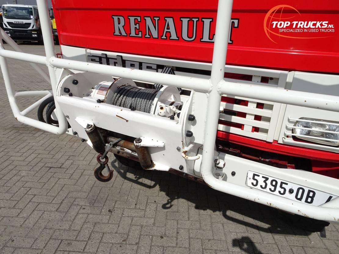 brandweerwagen vrachtwagen Renault 11 0-150 4x4 -Feuerwehr, Fire brigade -3.000 ltr watertank - 5t. Lier, Wich... 1991
