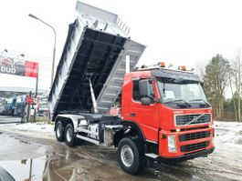 kipper vrachtwagen > 7.5 t Volvo FM 440 6x6 BORDMATIK EURO 4 KIPPER 2009