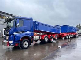 kipper vrachtwagen > 7.5 t Sisu Polar 8x4/4850 625 hv 2021
