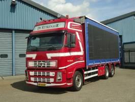 schuifzeil vrachtwagen Volvo FH 440 FH440-6x2 Globetrtotter Schuifzeilen en Hefdak voor Kippentransport 2008