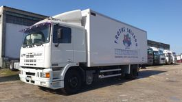 koelwagen vrachtwagen DAF 95 ATi 330 Isothermal Container 1991