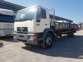 platform vrachtwagen MAN 18.264 TOP TRUCK - LONG FLAT BED 1999