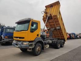 kipper vrachtwagen > 7.5 t Renault 400-34 Kerax 6X6 2000