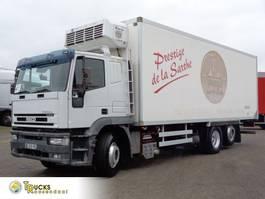 koelwagen vrachtwagen Iveco EuroTech Cursor 310 + Manual EURO 2 + Thermo king RD-TLE + 6X2 2003