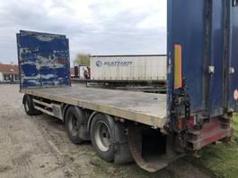 platte aanhanger vrachtwagen Renders plat