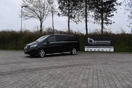 gesloten bestelwagen Mercedes-Benz V Klasse 220D Extra lang DC Dubbel cabine grijskenteken 2018