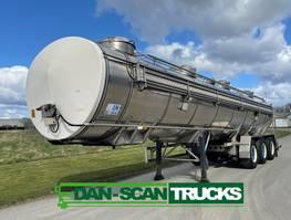 tankoplegger WM Meyer WM Tarm 32000L Stainles steel tank 2002