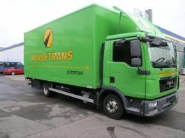 gesloten bestelwagen MAN TGL 7.150 L kein 8.150 Koffer LBW TÜV neu! 2012