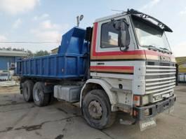 overige vrachtwagens Scania 143 450 tipper 6x4.Manual.Full Spring.Not 420 1992