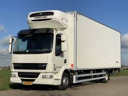 koelwagen vrachtwagen DAF LF45.210 EURO5.  Aut.  Koel/vries Bakwagen met Laadklep. 740x246x240. In Topstaat 2013