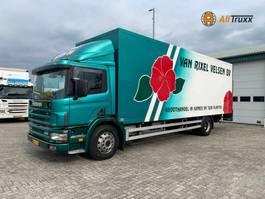 bakwagen vrachtwagen Scania P220 P94D Manual NL truck 1998