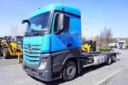 containersysteem vrachtwagen Mercedes-Benz Actros 2542 , E6 , 6x2 , MEGA , chassis 7,5m , BDF , retarder , 2017