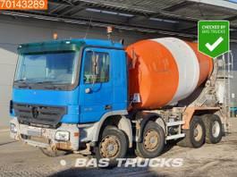 betonmixer vrachtwagen Mercedes-Benz Actros 3241 8X4 Big-Axle Steelsuspension 3-Pedals Euro 3 2004