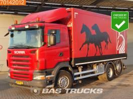 kipper vrachtwagen > 7.5 t Scania R380 6X2 NL-Truck 3-Pedals Liftachse Euro 4 2009