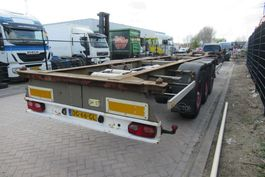 container chassis oplegger Pacton T3-007 20-30-40FT / BPW / DISC 2000