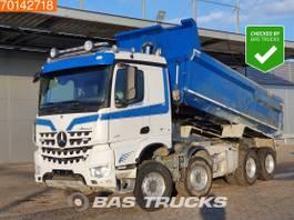 kipper vrachtwagen > 7.5 t Mercedes-Benz Arocs 4151 8X4 Retarder Big-Axle Steelsuspension ClassicSpace 2014