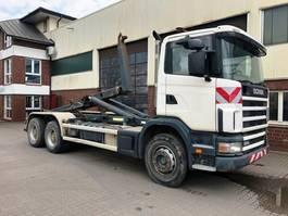 wissellaadbaksysteem vrachtwagen Scania 124 c 420 6x4 Meiller RK 20.65 2002