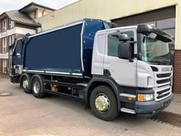 vuilniswagen vrachtwagen Scania P 360 Geesink GPM III 22H25 Euro 5 2012