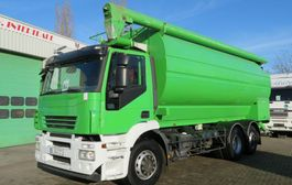 silo vrachtwagen Iveco Stralis Food silo Auger, 5 comp (TOP STATE TRUCK TUV till 11/05/2021. ) 2007