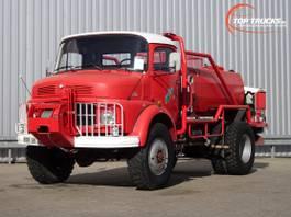 brandweerwagen vrachtwagen Mercedes-Benz 911 4x4 -Feuerwehr, Fire brigade -3.000 ltr watertank - 3,5t. Lier, Wich... 1977