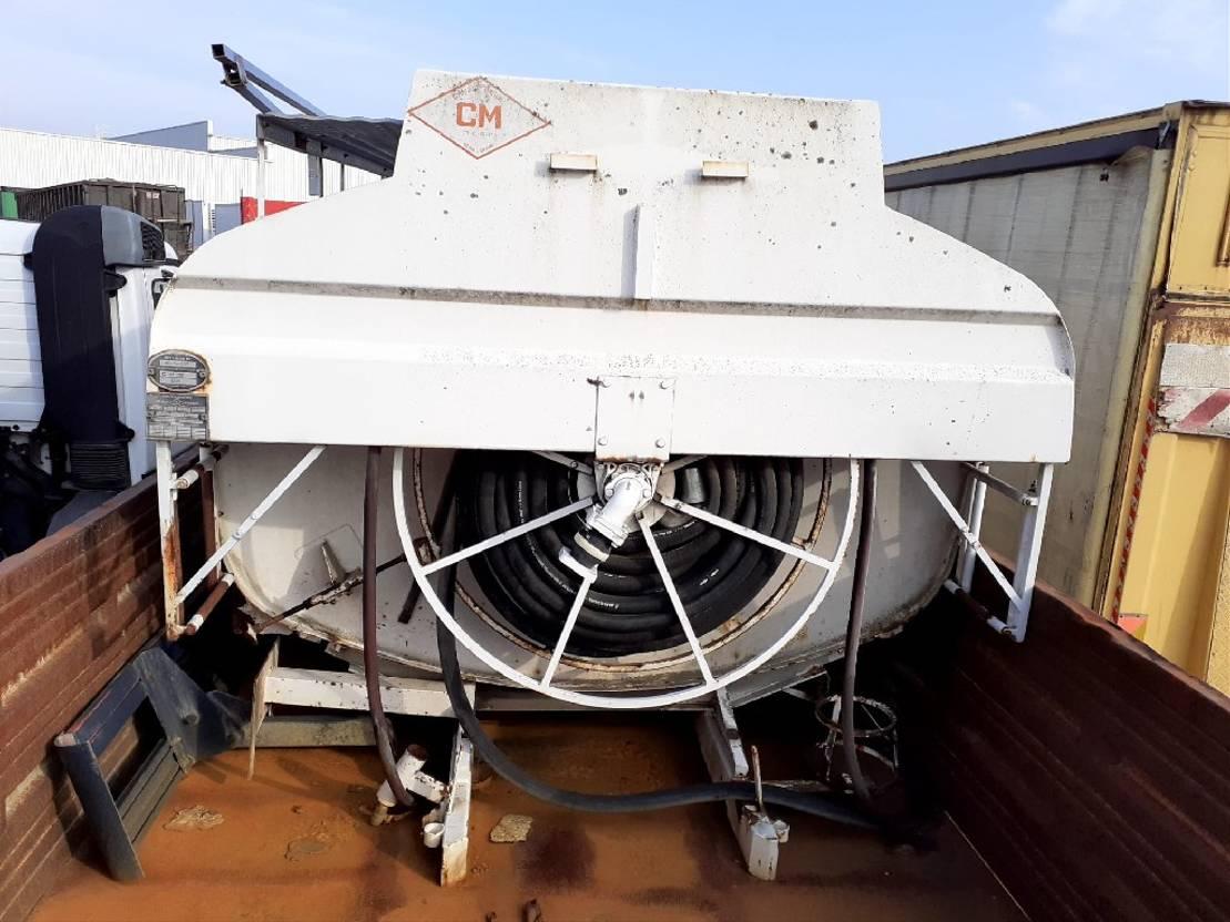 Opbouw vrachtwagen onderdeel Diversen Occ Tankwagen opbouw CM40 11.000l 1995