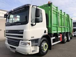 vuilniswagen vrachtwagen DAF CF75 250 + ZOELLER GARBAGE SYSTEM + EURO 5 + 6X2 + TUV/APK + 6 PIECES IN STOCK 2008