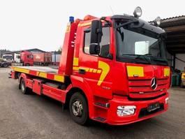 autotransporter vrachtwagen Mercedes-Benz Atego 1023 Skydelad 2015
