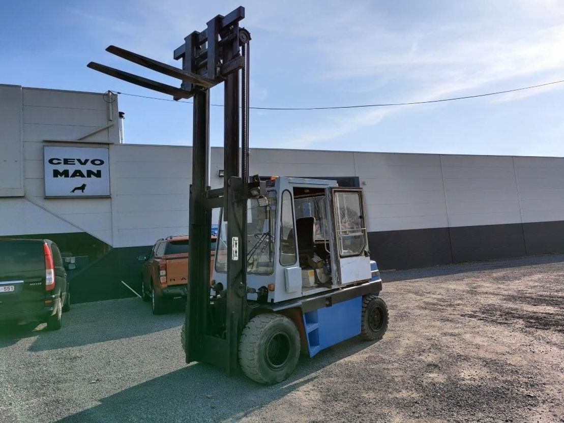 vorkheftruck Kalmar Heftruck / Forklift 5,5-600   / 5500 kg 1985