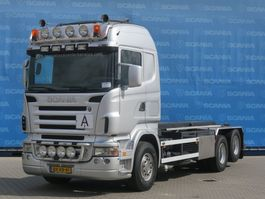 containersysteem vrachtwagen Scania R500-V8 LB6X2HHZ | V8 | OLD TACHO | MANUAL GEARING | NCH HTS CABLE SYSTEM 2006